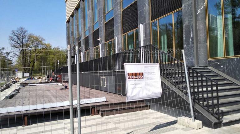 Строительство летней террасы ресторана «HERITAGE» в Москве